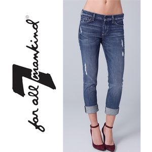 2240 ✴️ 7 FOR ALL MANKIND JOSEFINA Boyfriend Jeans